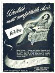 Click here to enlarge image and see more about item MAX013: 1948 La-Z-boy Recliner Ad