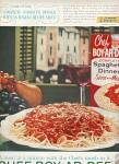 Chef-ar-dee spaghetti dinner ad 1961