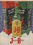 J & B scotch whisky ad 1970