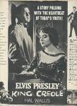 Click here to enlarge image and see more about item MH1280: Movie;  KING CREOLE - ELVIS PRESLEY  1958