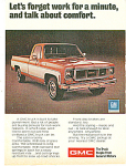 Click here to enlarge image and see more about item MH135: GMC trucks ad 1974