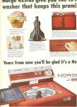 Click here to enlarge image and see more about item MH162: Norge heavy duty wash machine ad 1965