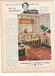 Armstrong's linoleum floors ad 1939 GREAT DESIGNS