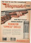 Click to view larger image of Remington Wingmaster rifle ad 1952 (Image2)