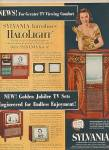 Click here to enlarge image and see more about item MH237: Sylvania television ad 1951