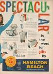 Click here to enlarge image and see more about item MH276: Hamilton Beach products ad 1960