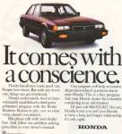 Click here to enlarge image and see more about item MH2886: Honda automobil3e ad 1984