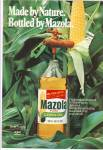 Click here to enlarge image and see more about item MH3092: Mazola pure corn oil ad 1978