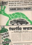 Click here to enlarge image and see more about item MH3145: Turtle wax auto polish ad 1953