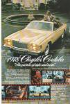 Chrysler Cordoba for 1978 ad