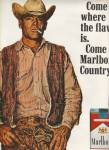 Marlboro MAN filter cigarettes ad 1970