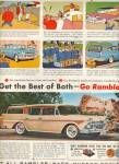 Click here to enlarge image and see more about item MH4150: RAmbler - Nash - Hudson dealers ad 1958