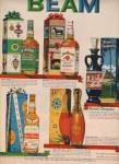 Click here to enlarge image and see more about item MH4201: Jim Beam bourbon ad 1962