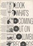 Click here to enlarge image and see more about item MH4636: Columbia records ad 1962