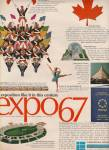 Click here to enlarge image and see more about item MH4756: Expo 67 - Montreal ad 1966