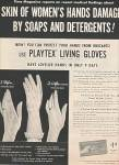 Click here to enlarge image and see more about item MH482: Playtex living gloves ad -1954