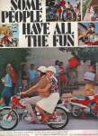 Click here to enlarge image and see more about item MH4884: Honda motorcycle ad 1966
