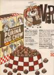 Purina dog chow ad 1972