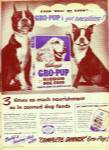 Kellogg's gro pup meal ad 1951