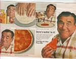 Chef boy ar dee pizza mix - JOE E. ROSS ad 1968