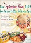 Click here to enlarge image and see more about item MH560: Nucoa Oleomargarine ad 1951