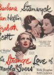 Movie PROMO AD : THE STRANGE LOVE OF MARTHA IVERS  1946