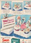 Click here to enlarge image and see more about item MH5692: Swan white soap ads 1943