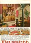 B assett furniture ad 1964