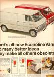 Click here to enlarge image and see more about item MH5778: Ford Econolione vans ad 1968