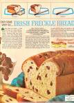 Click here to enlarge image and see more about item MH5808: F;eischmann's yteast - Irish freckle bread ad 1964