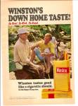 Click here to enlarge image and see more about item MH5945: Winston cigarettes ad 1972-