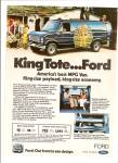 Click here to enlarge image and see more about item MH5958: Ford MPG van ad 1980