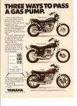 Click here to enlarge image and see more about item MH5968: Yamaha motorcycles ad 1980