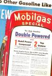 Click here to enlarge image and see more about item MH6006: Mobilgas gas  ad 1954