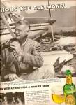 Click here to enlarge image and see more about item MH6023: Ballantine Ale ad 1963 ELLIOTT BAY Lumber Compan