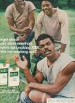 Click here to enlarge image and see more about item MH604: Kool cigarettes ad 1978 BLACK AMERICANA