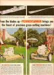 Pennsylvania grass cutting machines ad 1958