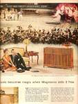 Click here to enlarge image and see more about item MH6171: Magnavox television ad 1958