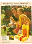 Click here to enlarge image and see more about item MH6227: Raleigh cigarettes ad 1971