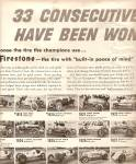 Click to view larger image of Firestone tires - Indianapolis races ads 1956 (Image2)