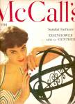 Click here to enlarge image and see more about item MH6370: Cover MODEL  on McCall's 1950