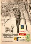 Click here to enlarge image and see more about item MH6411: Old Gold Fil;ter cigarettes ad 1972