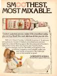Click here to enlarge image and see more about item MH6439: Gordon's vodka ad 1977
