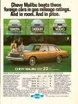 Click here to enlarge image and see more about item MH6487: Chevrolet Malibu auto ad 1979