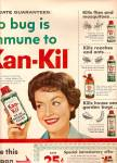 Click here to enlarge image and see more about item MH6489: Kan-Kil fly and mosquito killer ad  1958