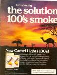 Click here to enlarge image and see more about item MH6514: Camel lights ad 1979
