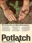Click here to enlarge image and see more about item MH6532: Potlatch ad 1977