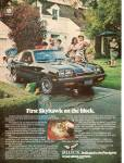 Click here to enlarge image and see more about item MH6560: Buick Skyhawk ad 1976