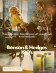 Benson & Hedges ad 1976