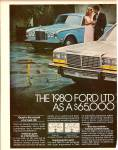 Click to view larger image of The 1980 Ford LTD ad 1979 (Image2)